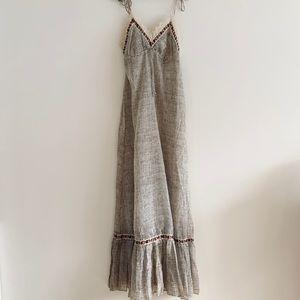 Vintage Dior Jr's Urban Prairie Maxi Dress